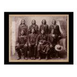 Plenty of Horses Trial 1890 Post Card
