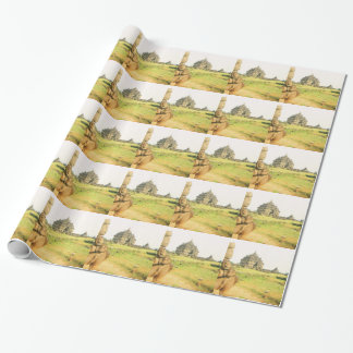 Pleosan Buddhist temple, Prabanam, Java, Indonesia Wrapping Paper