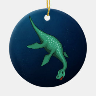 Plesiosaur Christmas Ornament