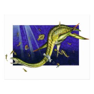 Plesiosaur Postcard
