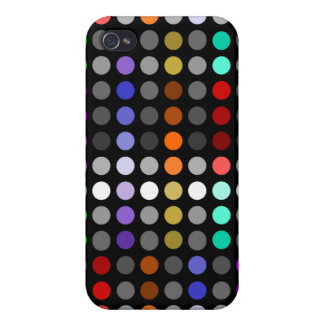 Plethora of Rainbow Circles Geomteric iPhone 4/4S Cover