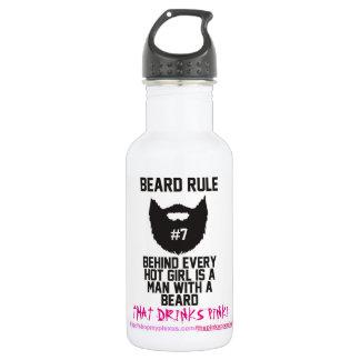 Plexus Bearded Bottle Think Pink Drink Pink 532 Ml Water Bottle