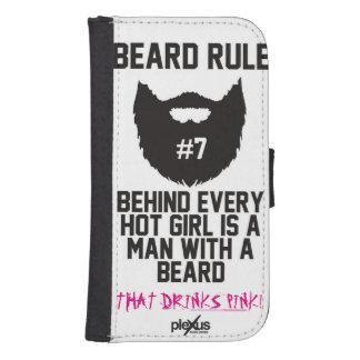 Plexus Bearded Men Wallet Case
