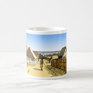 Plimoth Plantation Basic White Mug