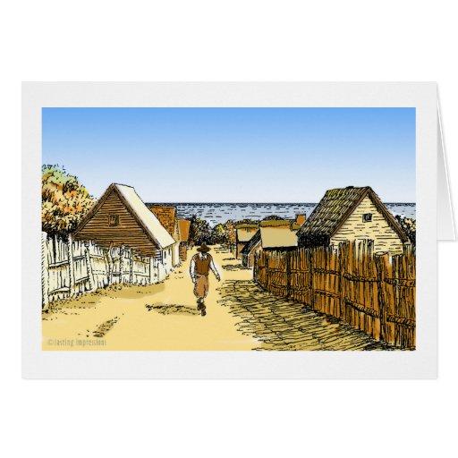 Plimoth Plantation Card
