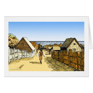 Plimoth Plantation Greeting Card