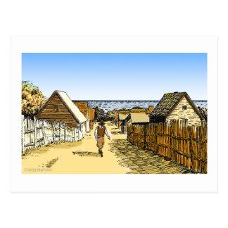 Plimoth Plantation Postcard