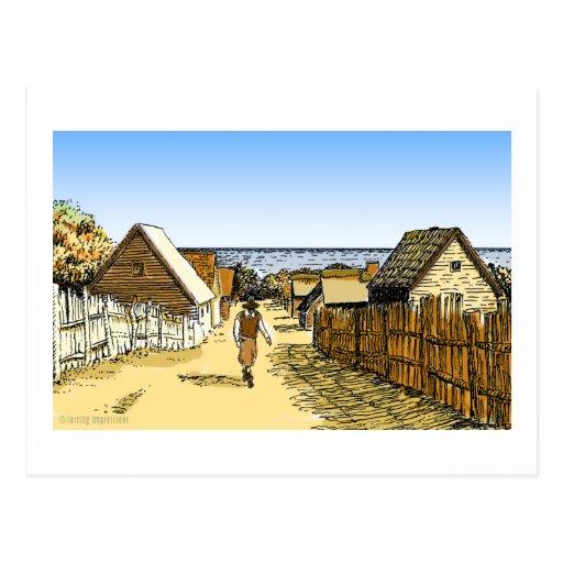 Plimoth Plantation Post Cards