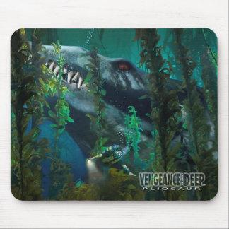 Pliosaur Mousepad 3 - Vengeance from the Deep