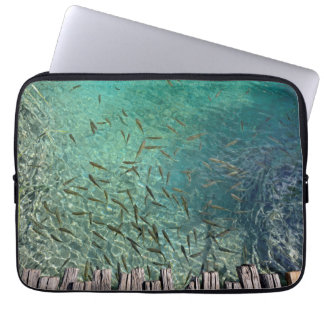 Plitvice Fish Laptop Sleeve