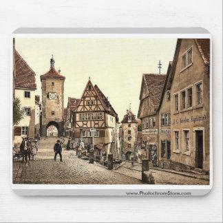 Ploenlein, Rothenburg (i.e. ob der Tauber), Bavari Mousepad