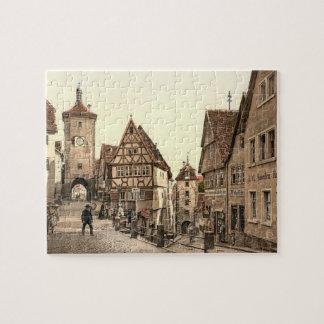 Ploenlein Rothenburg Jigsaw Puzzle