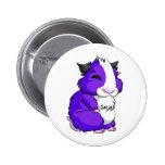 Plooshkin hamster pinback buttons