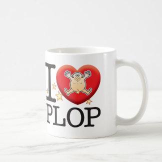 Plop Love Man Basic White Mug