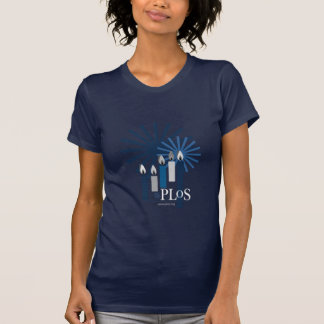 PLoS Holiday Bella T-shirt Blue