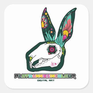 plotbunniesincolour Full Logo Sticker