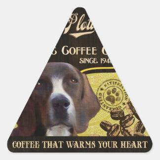 Plott Brand – Organic Coffee Company Triangle Sticker