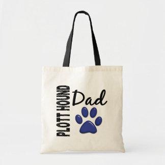 Plott Hound Dad 2 Budget Tote Bag