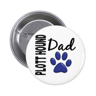 Plott Hound Dad 2 Button