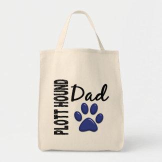 Plott Hound Dad 2 Grocery Tote Bag