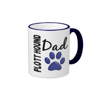 Plott Hound Dad 2 Ringer Mug
