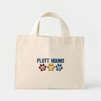 PLOTT HOUND Dad Paw Print 1 Canvas Bag