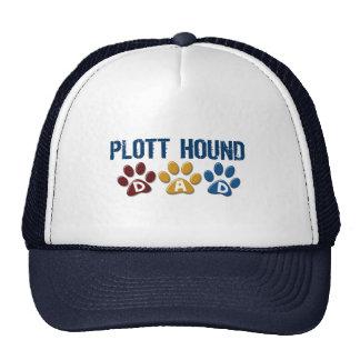 PLOTT HOUND Dad Paw Print 1 Hats