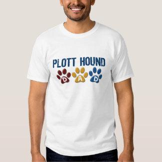 PLOTT HOUND Dad Paw Print 1 Shirts