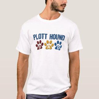 PLOTT HOUND Dad Paw Print 1 T-Shirt