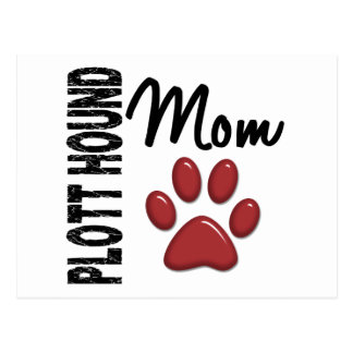 Plott Hound Mom 2 Postcard