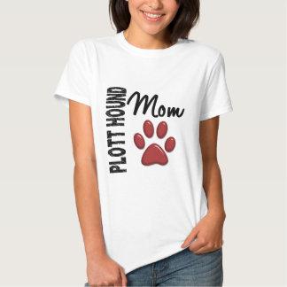 Plott Hound Mom 2 T-shirt