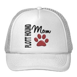 Plott Hound Mom 2 Trucker Hat