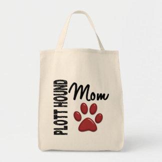 Plott Hound Mum 2 Grocery Tote Bag