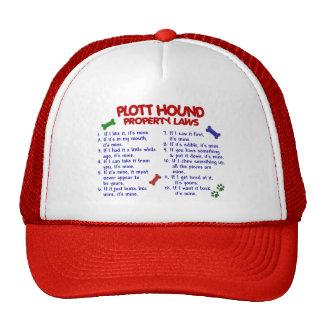 PLOTT HOUND Property Laws 2 Mesh Hat