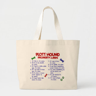 PLOTT HOUND Property Laws 2 Tote Bags