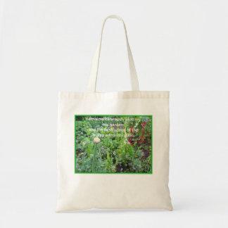 Plotting my Garden against Trump Tote Bag