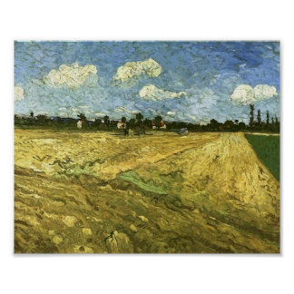 Ploughed Field, Vincent van Gogh Posters