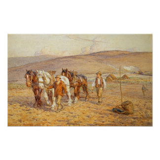 Ploughing Poster