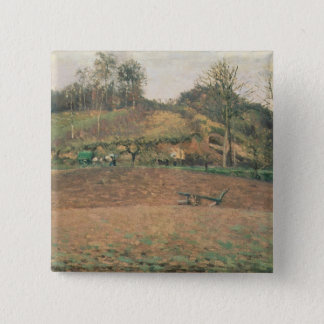 Ploughland, 1874 15 cm square badge