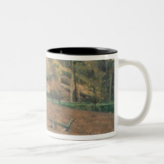 Ploughland, 1874 Two-Tone coffee mug