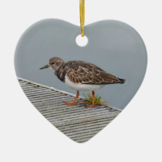 Plover In A Harbour Christmas Ornament