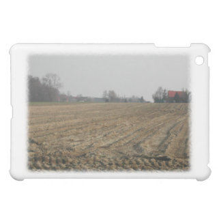 Plowed Field in Winter. Scenic. Cover For The iPad Mini