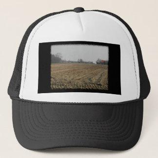 Plowed Field in Winter. Scenic. Trucker Hat