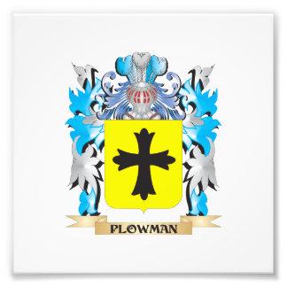 Plowman Coat of Arms - Family Crest Art Photo
