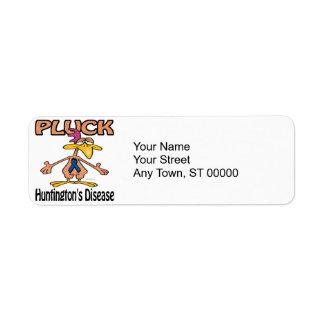 Pluck Huntingtons Disease Awareness Design