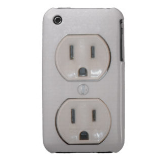 Plug Cover iPhone 3 Case-Mate Cases