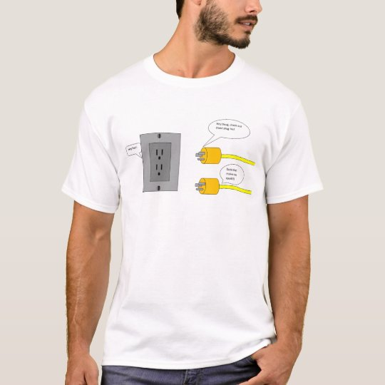 plug-ins cartoons t-shirt