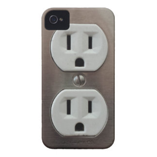 Plug Outlet iPhone 4 Cover