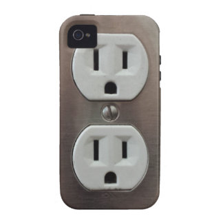 Plug Outlet iPhone 4/4S Cases