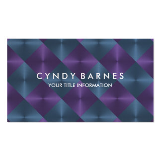 Plum and Slate Tiles Business Card